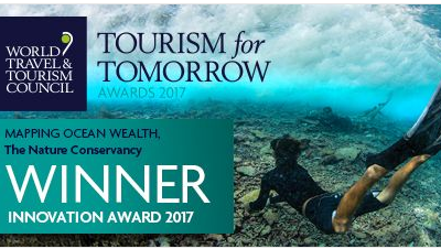 Mapping Ocean Wealth Wins Tourism for Tomorrow Innovation Award